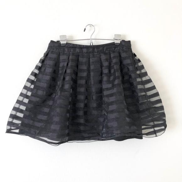 Freeway Dresses & Skirts - Freeway Black Lined A Line Skirt